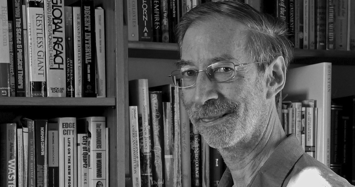 Foto ritratto del prof. David Unger, Adjunct Professor of American Foreign Policy – Johns Hopkins University
