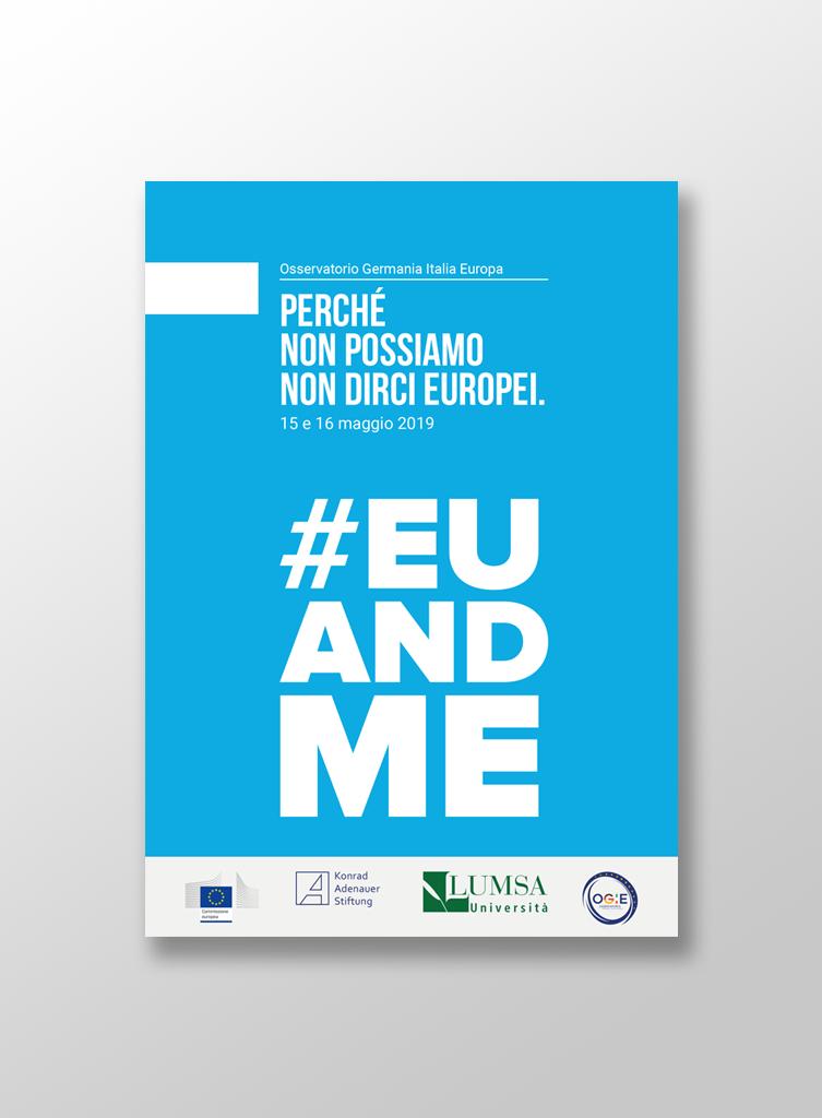 """Mocup brochure """"Perché non possiamo non dirci europei"""""""