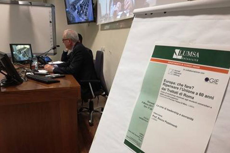 Professore Ferri relazione al Secondo Workshop OGIE