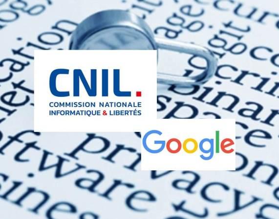 Logo di Google con lucchetto per indicare la tutela dei dati personali