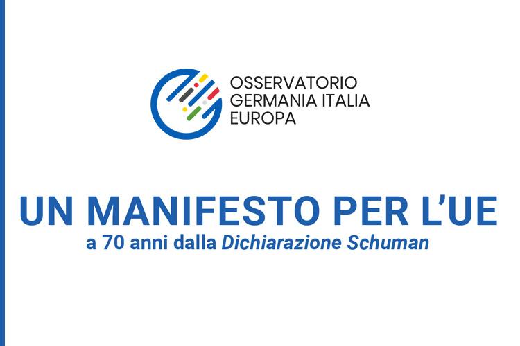 Manifesto OGIE per l'UE a 70 anni dalla dichiarazione Schuman