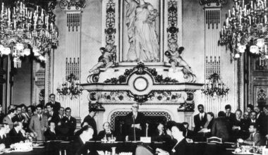 Quai d'Orsay a Parigi, dichiarazione Schuman 1950